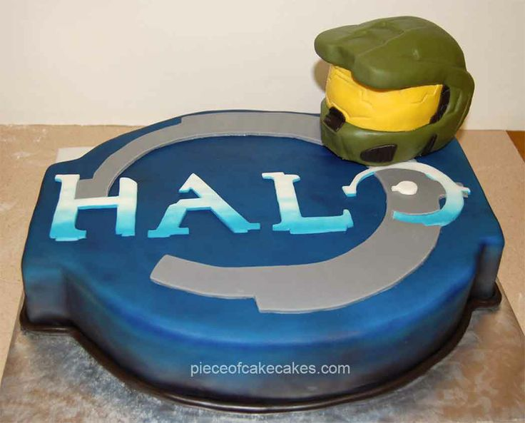 Wondrous 10 Halo Helmet Boy Cakes Photo Halo Helmet Cake Halo Master Birthday Cards Printable Nowaargucafe Filternl
