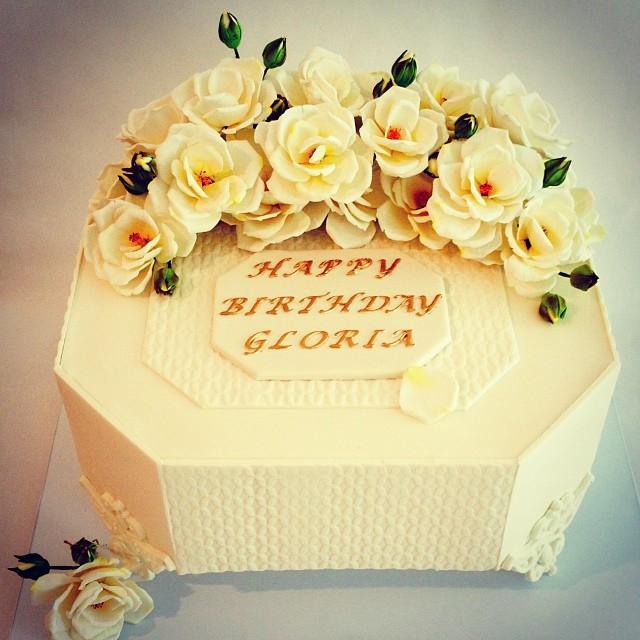 13 Gloria From Birthday Cakes Photo   Happy Birthday Gloria Cake