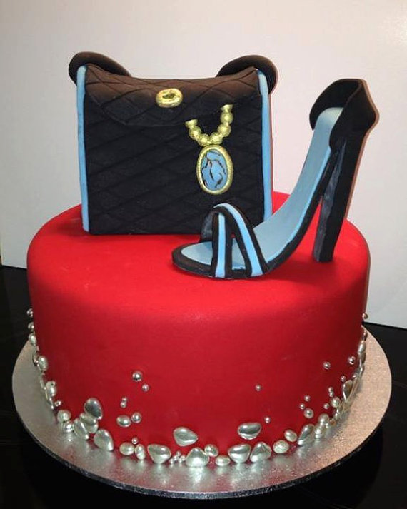 8 Shoe Cakes For Women Photo