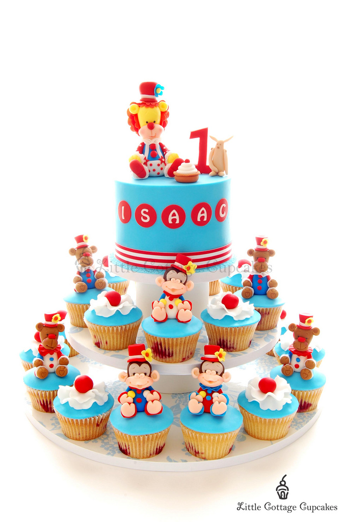 Collections Of Circus 1st Birthday Cake