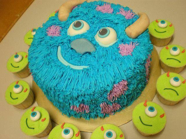 Awesome 9 Sully Cake On Cakes Decor Photo Monsters Inc Birthday Cake Personalised Birthday Cards Epsylily Jamesorg