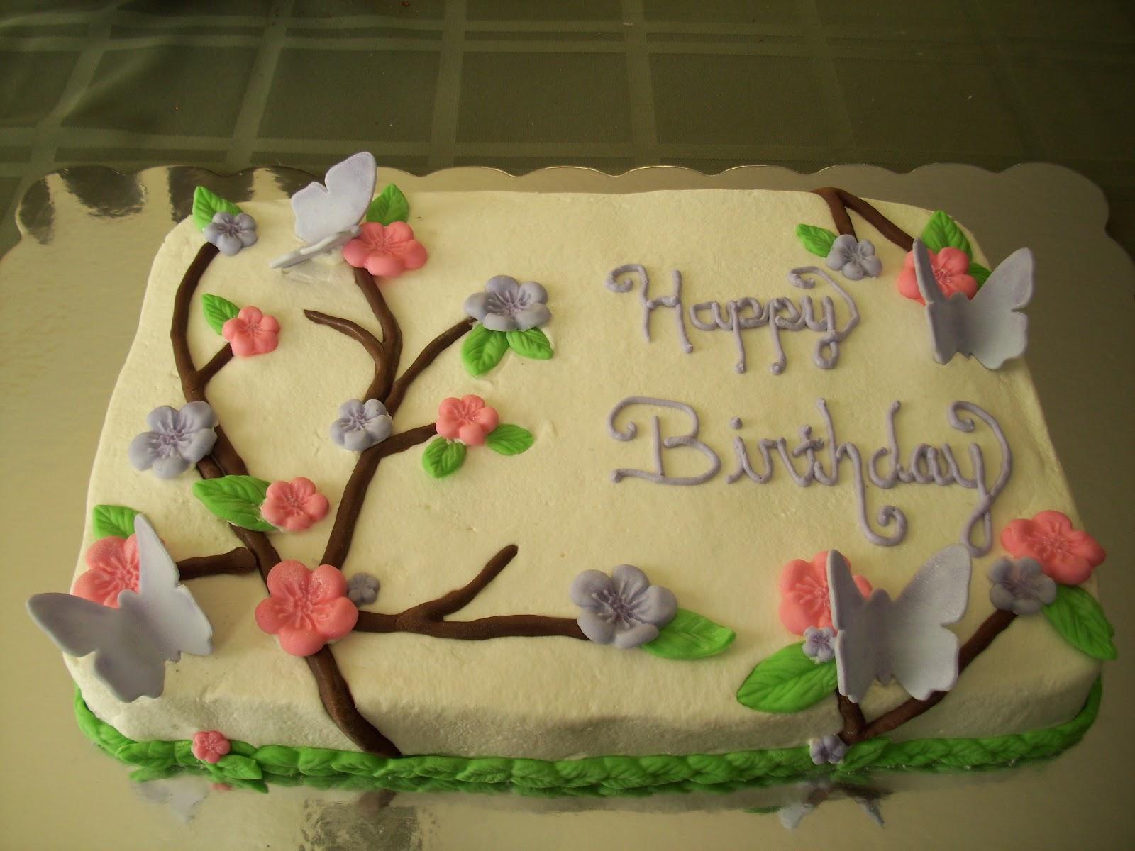 9 Birthday Cake Sheet Cakes For Women Photo Birthday Sheet Cake