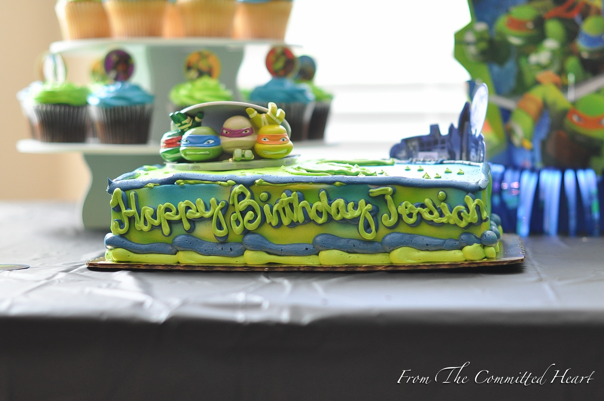 11 Ninja Turtle Birthday Cakes From Publix Photo Ninja Turtle Cake