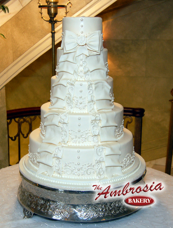 8 Wedding Cakes Baton Rouge La Photo Ambrosia Bakery Baton Rouge