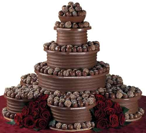 11 Chocolate Wedding Cakes Photo Beautiful Chocolate Wedding Cake