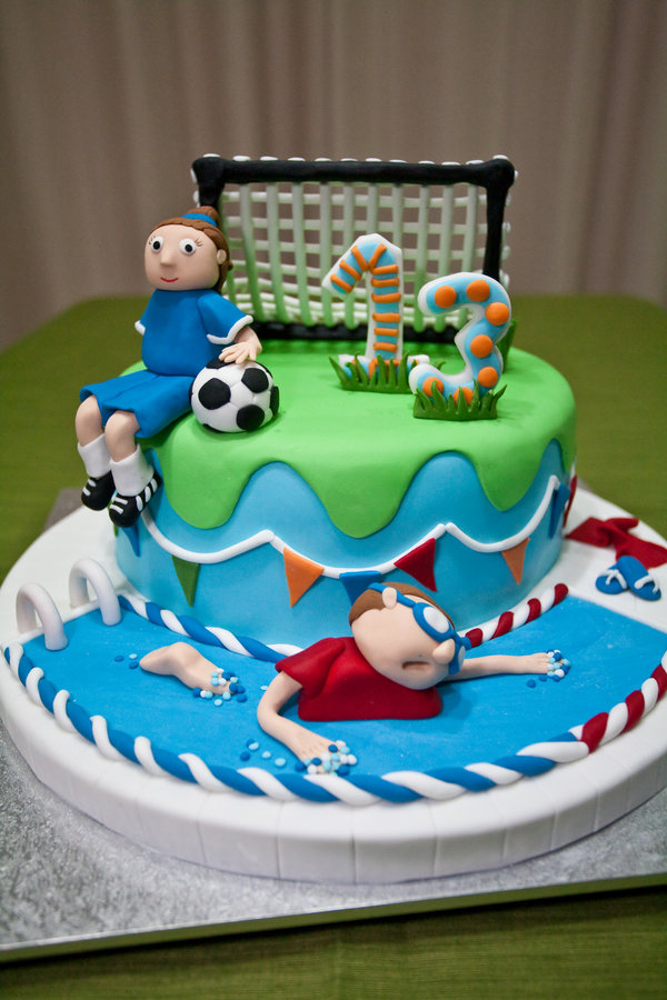 Fine 13 13 Girl Birthday Cakes Sports Photo Sports Birthday Cake Birthday Cards Printable Benkemecafe Filternl