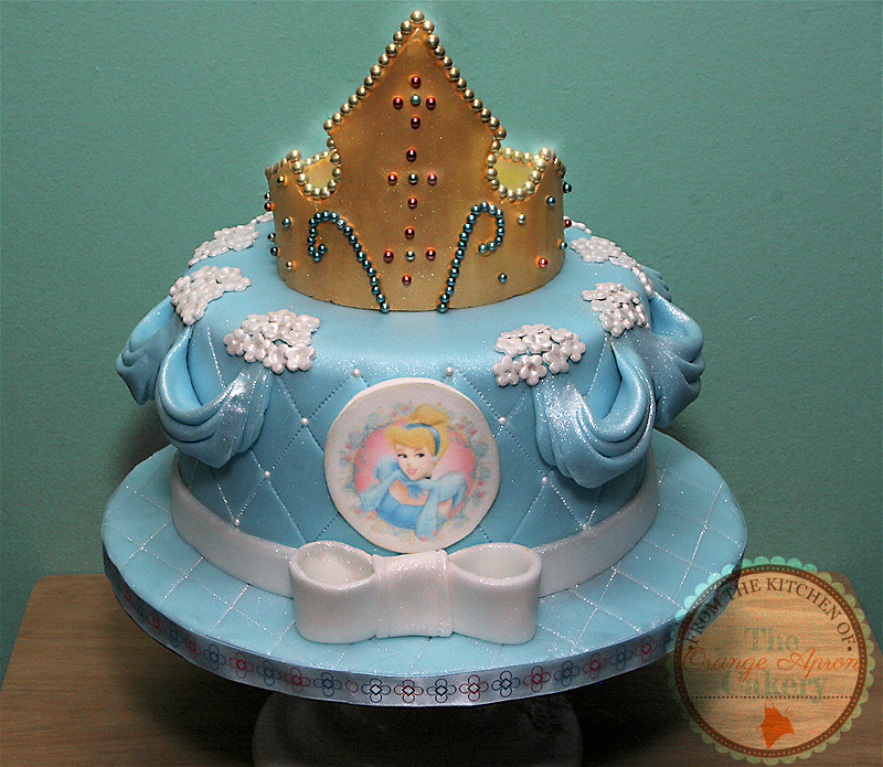 Astounding 13 Cinderella Baby Girl First Birthday Cakes Photo Cinderella Personalised Birthday Cards Veneteletsinfo