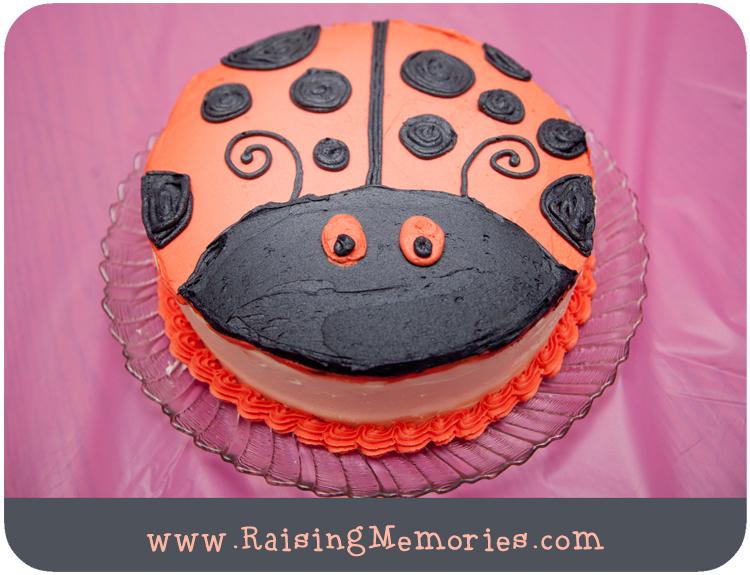 Easy Animal Birthday Cake