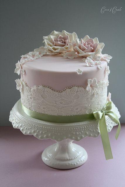Elegant Woman Birthday Cake
