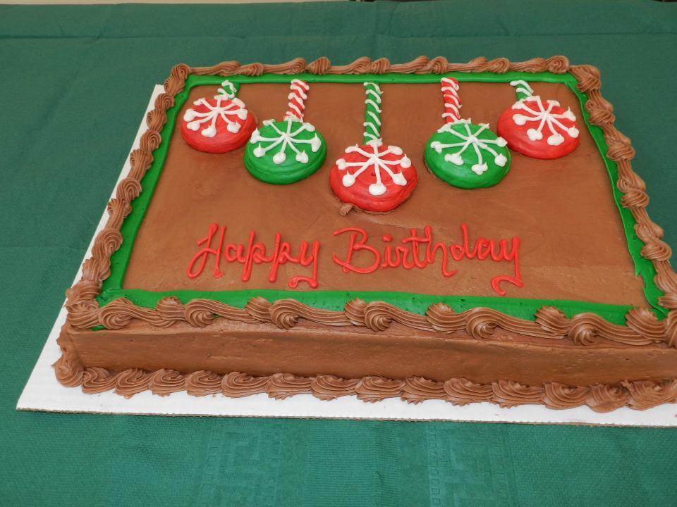 Awesome 5 December Birthday Cakes Photo Happy Birthday Jesus Party Funny Birthday Cards Online Hendilapandamsfinfo