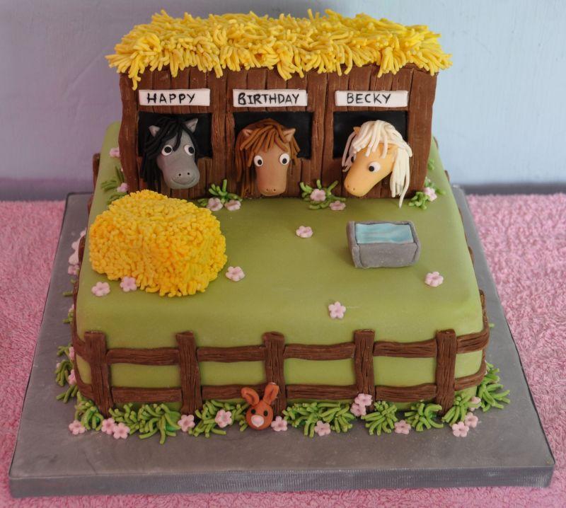 Astonishing 5 Horse And Pony Birthday Cakes Photo Horse Birthday Cake My Funny Birthday Cards Online Necthendildamsfinfo