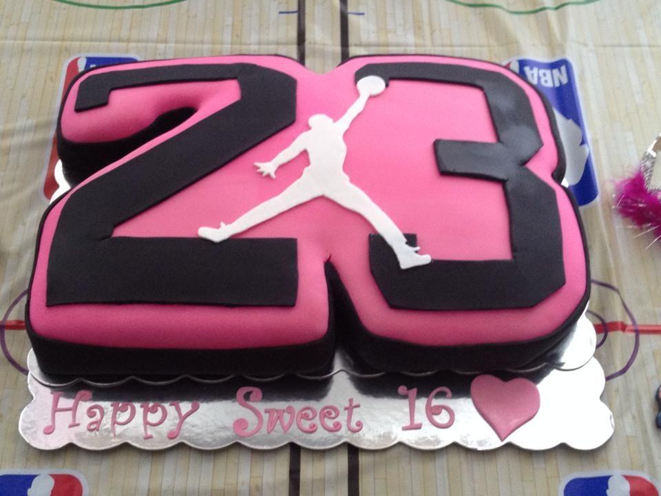 Awe Inspiring 12 Jordon Cakes For Girls Photo Jordan Basketball Birthday Cakes Funny Birthday Cards Online Elaedamsfinfo