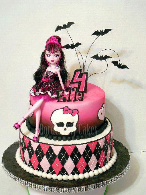 12 Happy Birthday Cakes Monster High Photo Monster High Birthday