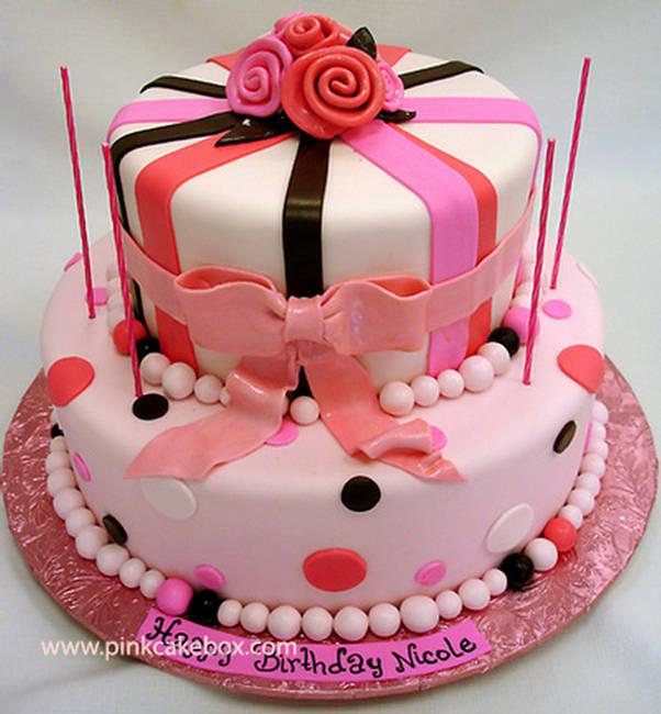 10 Birthday Cakes New Photo Happy Birthday Cake Rose Birthday