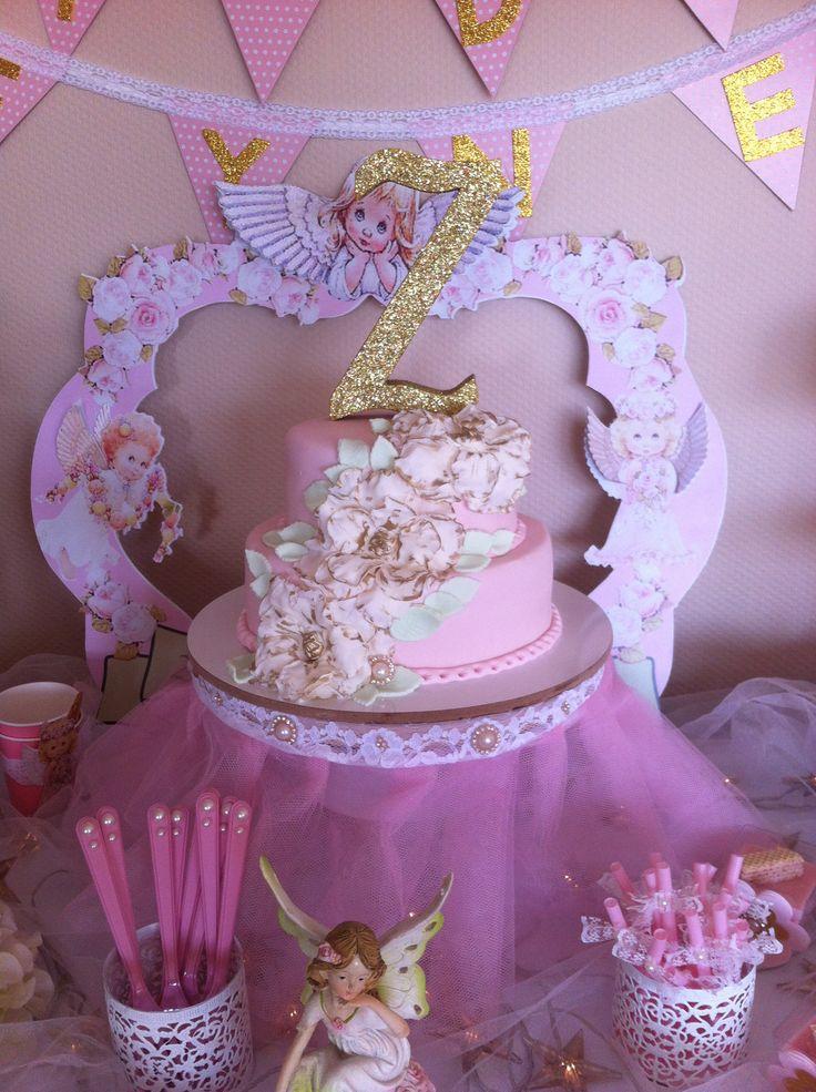 8 Angel Birthday Cupcakes Photo Angel Birthday Cake Angel Wings