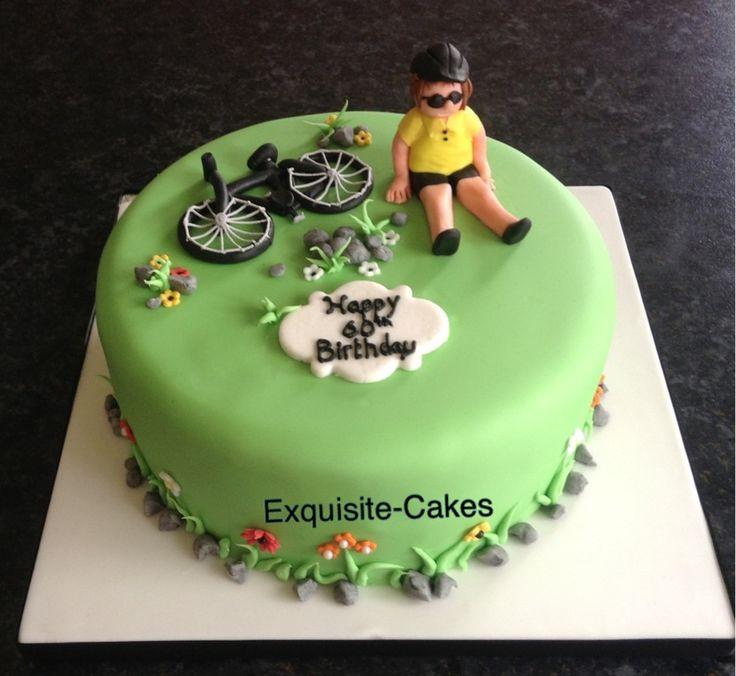 11 Cycling Birthday Cakes Photo Happy Birthday Bicycle Cake
