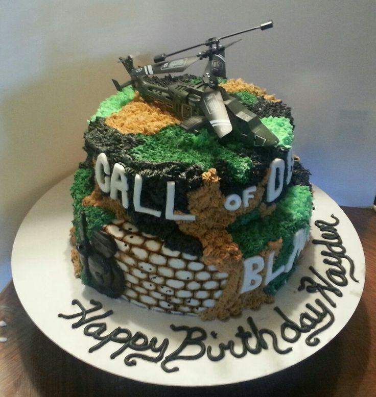 12 Cod Black Ops Cakes Photo Call Of Duty Black Ops Birthday Cake