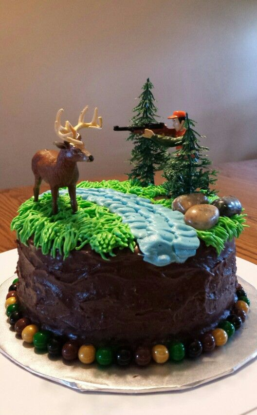 Enjoyable 10 Deer Cakes For Boys Photo Hunting Camo Birthday Cake Ideas Birthday Cards Printable Inklcafe Filternl