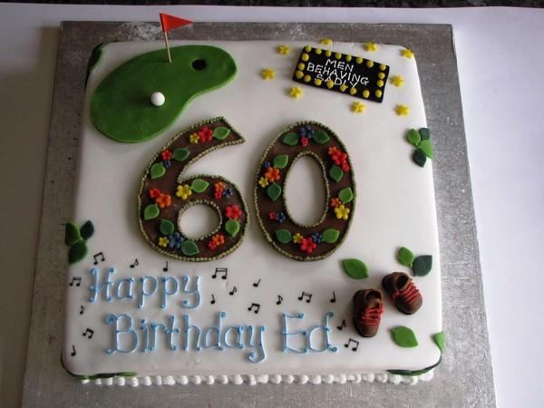 Enjoyable 10 Man 60 Birthday Cakes Photo 60Th Birthday Cake Ideas For Men Funny Birthday Cards Online Fluifree Goldxyz