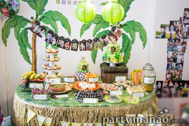 Diy Safari Birthday Decorations Image Decor And Frame