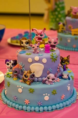 Fantastic 12 My Little Pet Shop Birthday Cakes Photo Littlest Pet Shop Funny Birthday Cards Online Elaedamsfinfo