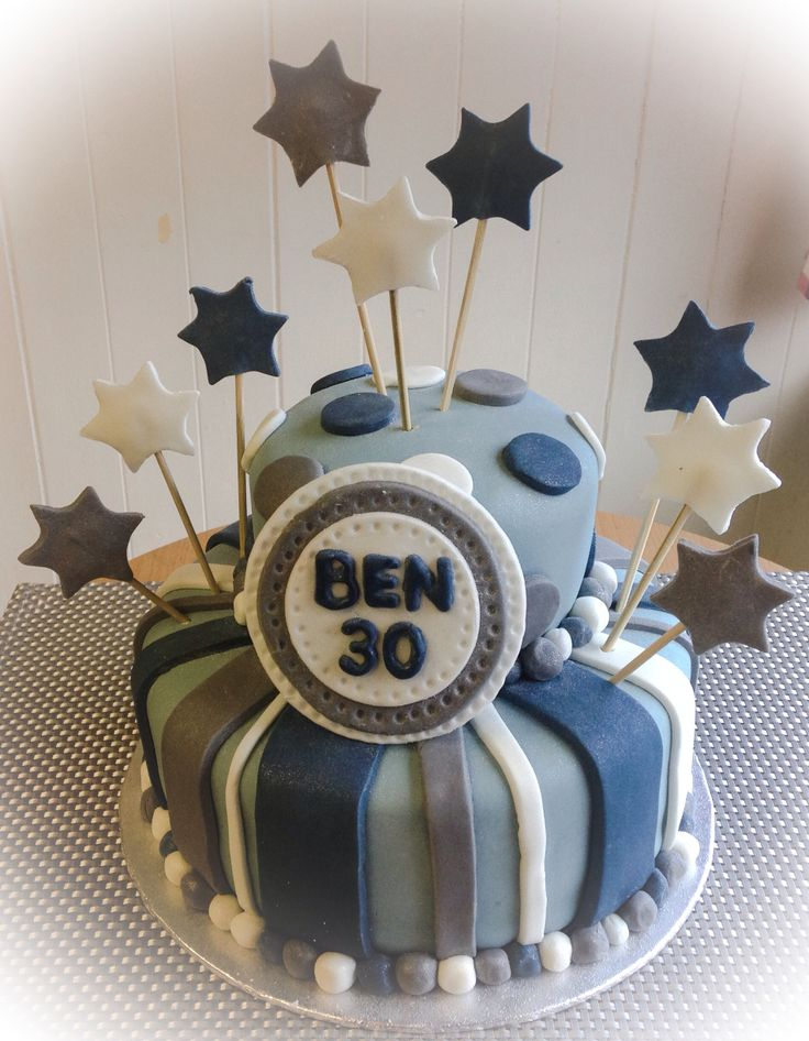 Male 30th Birthday Cake Ideas