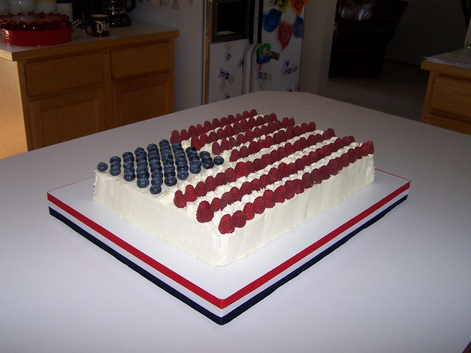 Memorial Day Birthday Cake