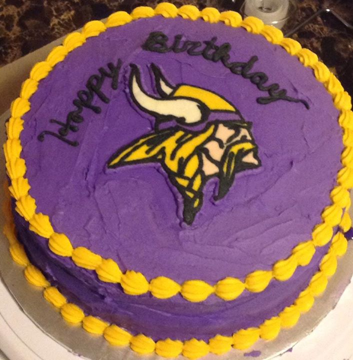 12 Nfl Vikings Cakes Photo Minnesota Vikings Viktor The Viking