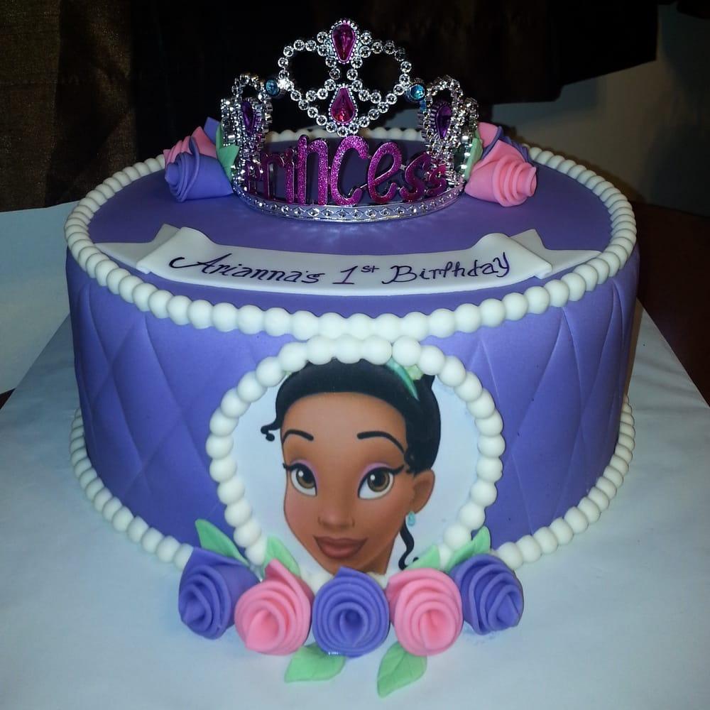 Remarkable 7 Tier Sheet Cakes Princess And Frog Cakes Photo Princess Tiana Funny Birthday Cards Online Elaedamsfinfo