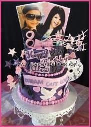 Brilliant 7 Selena Gomez Cakes Photo Selena Gomez Birthday Cake Selena Funny Birthday Cards Online Inifodamsfinfo
