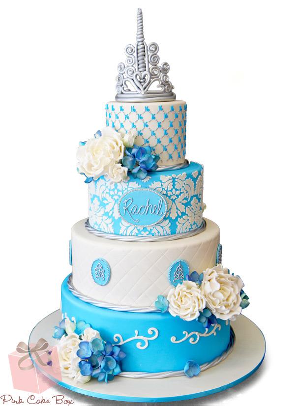 Sweet 16 Princess Cake
