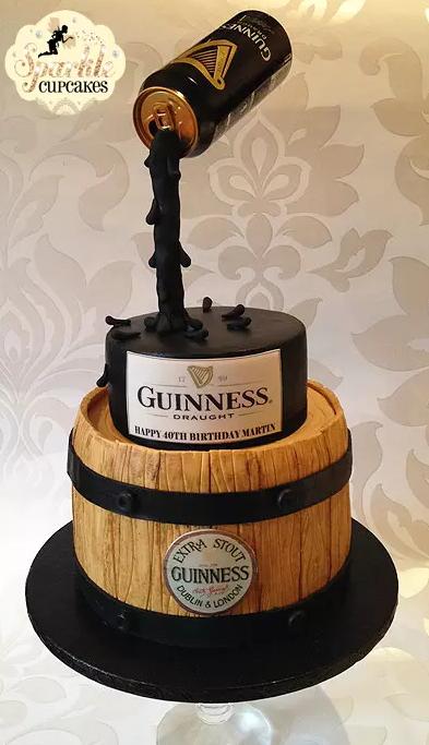 12 Beer Themed Birthday Cakes Photo