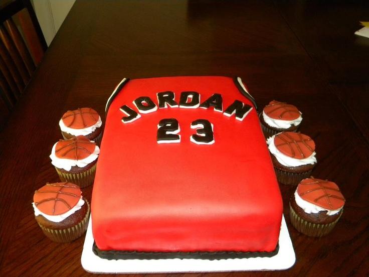 buy popular 77178 23f9a Chicago Bulls Basketball Cake Ideas
