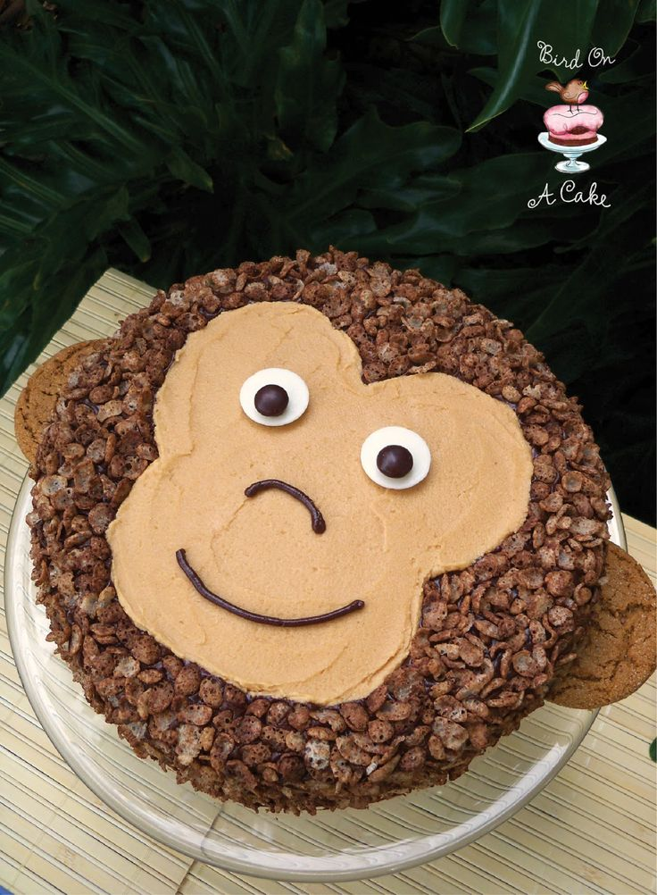 7 60505 Monkey Birthday Cakes Photo Monkey Birthday Cake Monkey