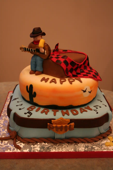 Miraculous 6 Country Western Cakes And For Men Photo Country Western Themed Funny Birthday Cards Online Alyptdamsfinfo