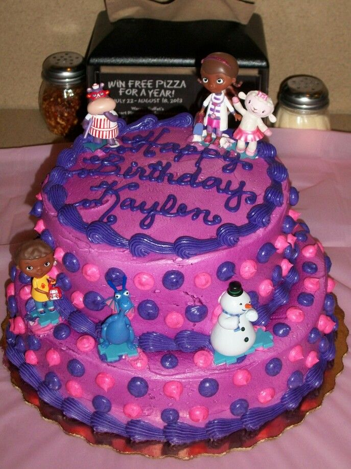 Awe Inspiring 13 Awesome Cakes For Girls At Publix Photo Doc Mcstuffins Funny Birthday Cards Online Elaedamsfinfo