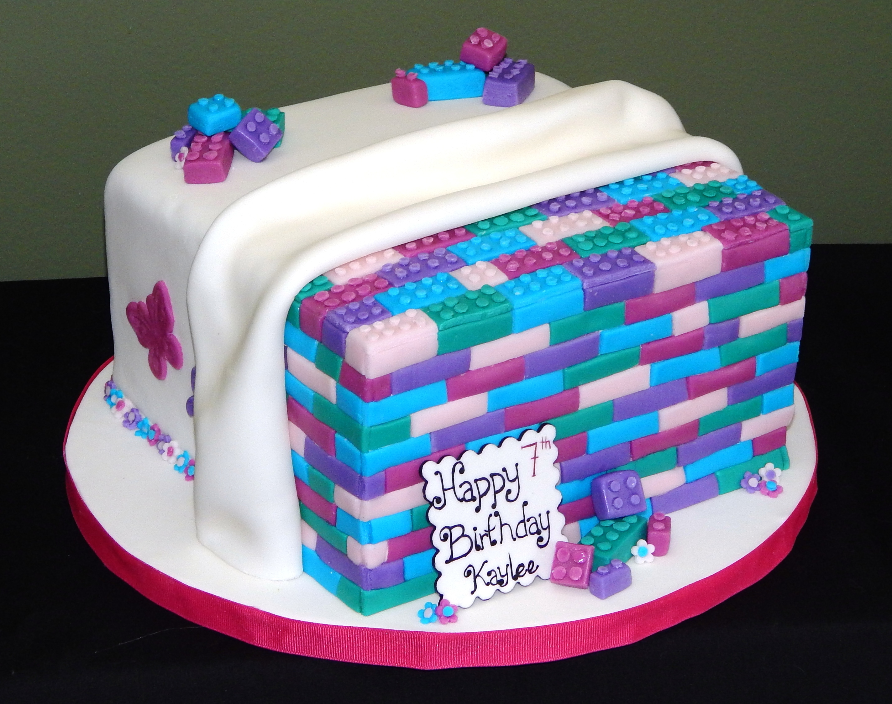Peachy 11 Lego Cakes For Girls Photo Girls Lego Birthday Cake Ideas Personalised Birthday Cards Paralily Jamesorg