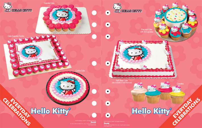 11 Cupcakes With Hello Kitty Cakes At Sam S Club Photo Sam S Club