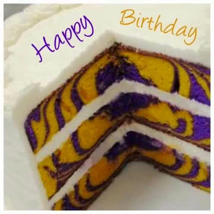 Magnificent 6 Lsu Track Birthday Cakes Photo Lsu Birthday Cake Lsu Football Personalised Birthday Cards Veneteletsinfo