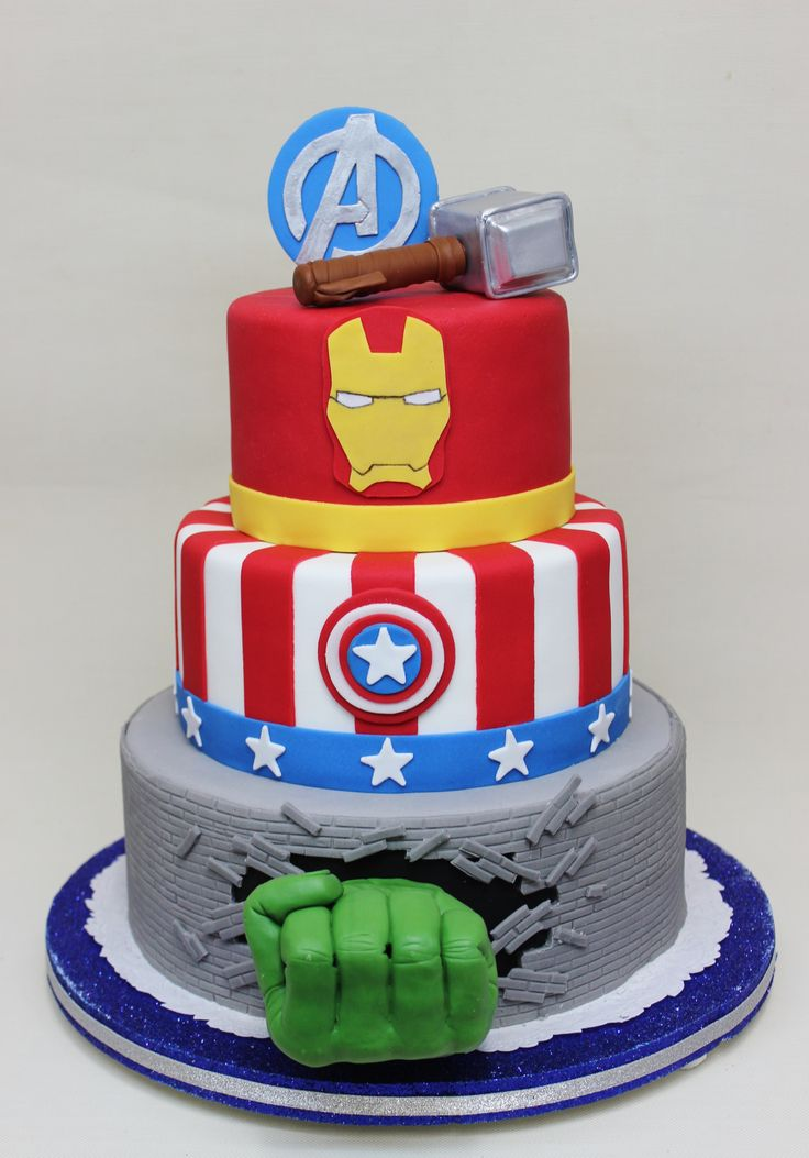 Swell 13 Marvel Birthday Cakes For Girls Photo Marvel Lego Birthday Personalised Birthday Cards Veneteletsinfo