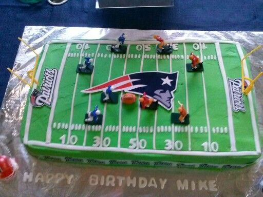 5 Football Cakes From Wal Mart Photo Football Birthday Cakes