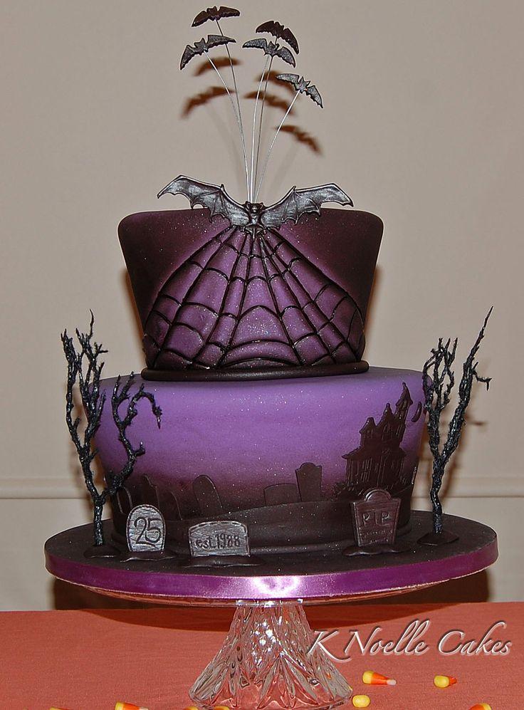 Terrific 11 Spooky Bday Cakes Photo Scary Halloween Birthday Cake Scary Funny Birthday Cards Online Inifofree Goldxyz