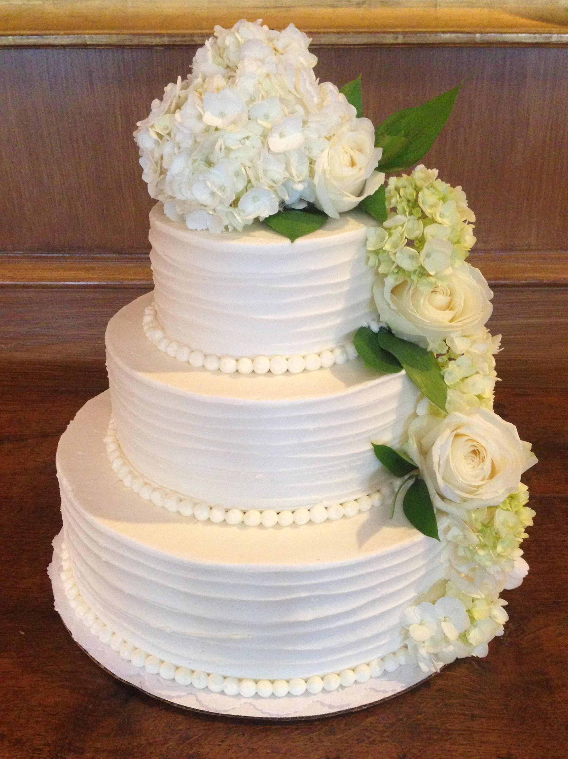 12 Simple Elegant Wedding Cakes Photo Simple Elegant Wedding Cake