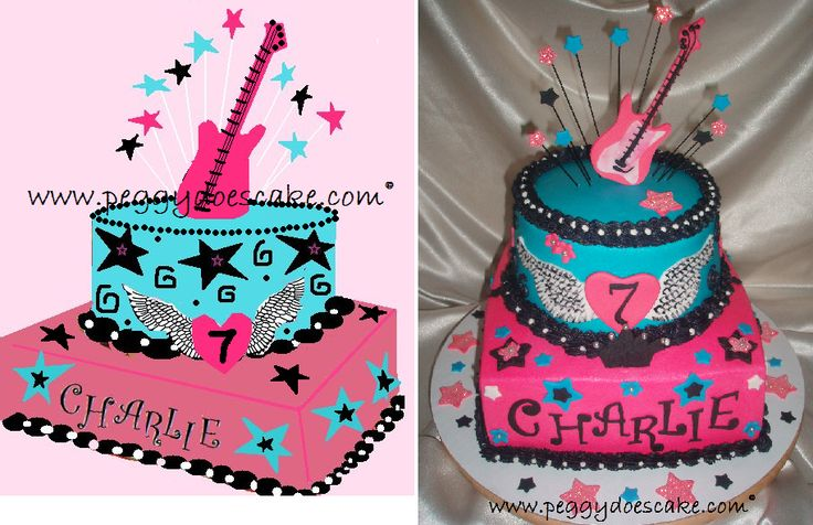 Awesome 7 Birthday Cakes For Girls That Turn 11 Photo 11 Year Old Personalised Birthday Cards Veneteletsinfo