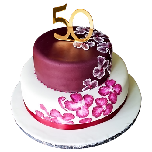 10 For 50th Birthday Cakes For Lady Photo 50th Birthday Cake 50th