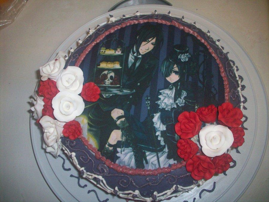 10 Anime Black Butler Birthday Cakes Photo Black Butler Birthday