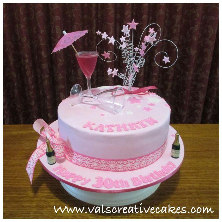 Incredible 10 Martini Themed Birthday Cakes Photo Martini Glass Cupcake Birthday Cards Printable Inklcafe Filternl