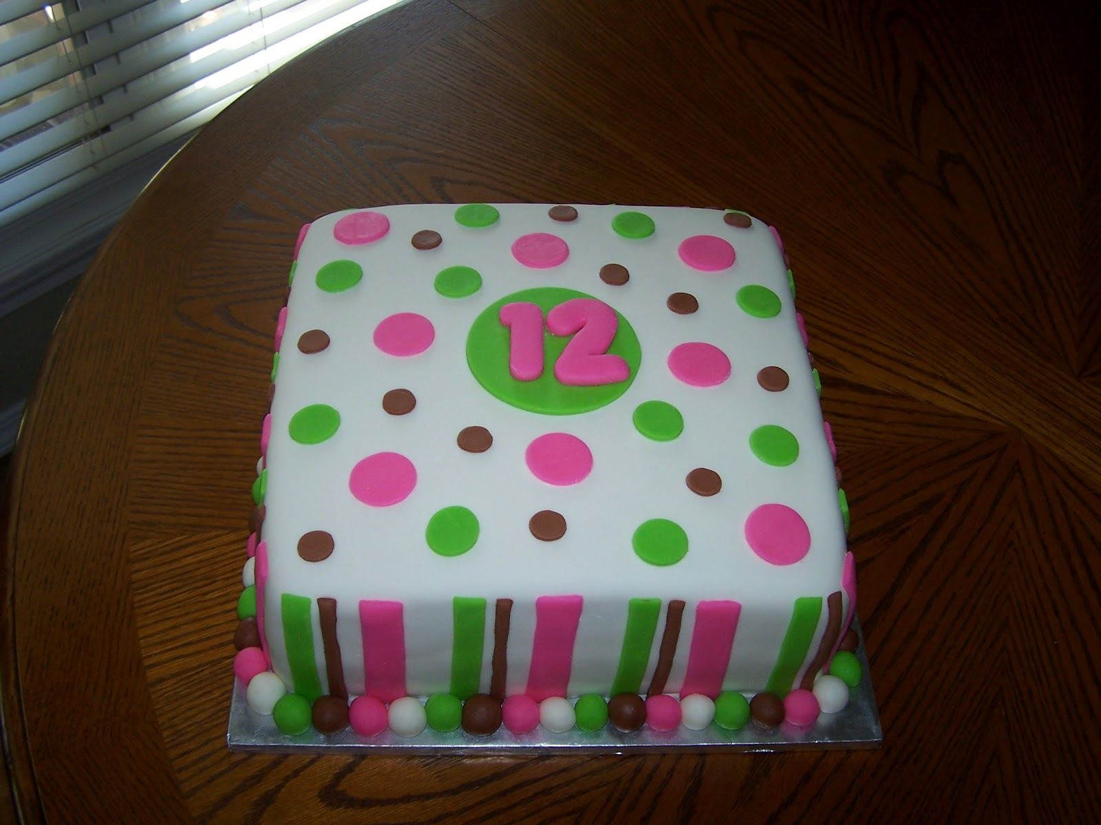 5 Regular 12 Year Olds Birthday Cakes For Girls Photo , Cute