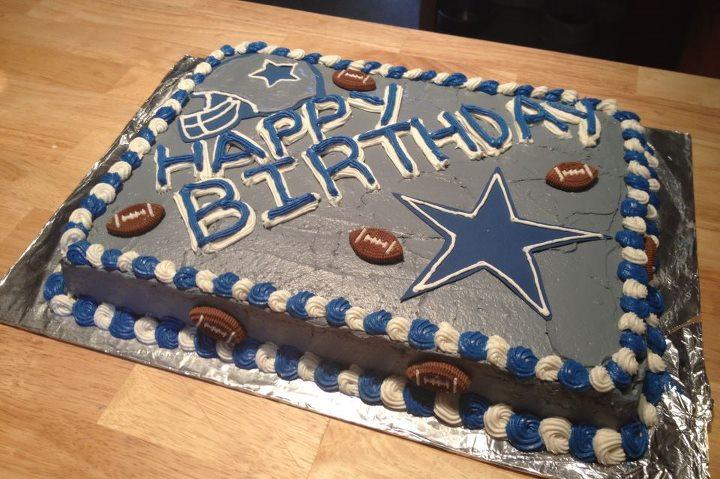 7 Homemade Dallas Cowboy Cakes Photo Dallas Cowboys Wedding Cake