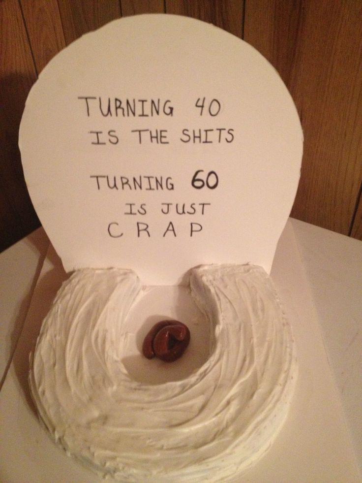 Funny 60th Birthday Cake Ideas